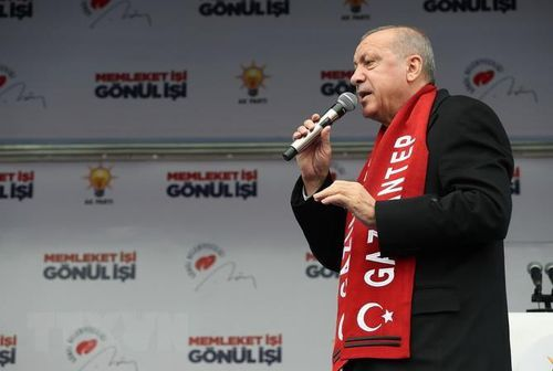 Chuyến thăm Nga của Tống thống Thổ Nhĩ Kỳ được ấn định vào tháng Tư