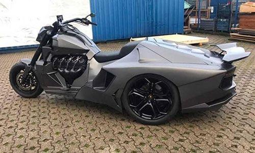 Siêu môtô Boss Hoss độ phong cách Lamborghini Aventador