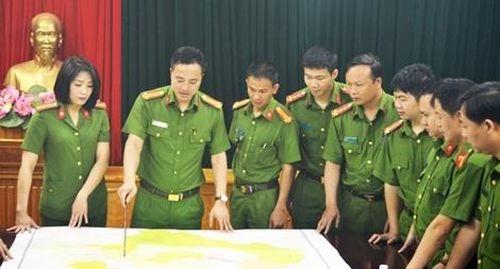 Thượng úy Tạ Văn cường đêm tân hôn vẫn lên đường đánh án