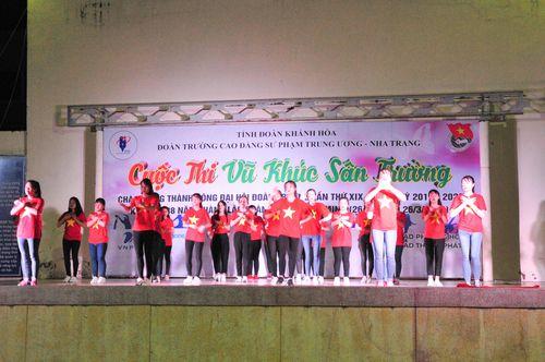 Trường Cao đẳng Sư phạm Trung ương Nha Trang: 12 đội tham gia cuộc thi Vũ khúc sân trường