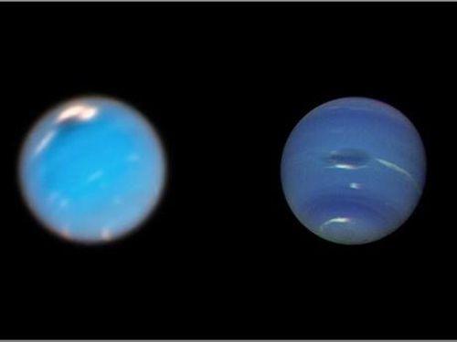 Lần đầu ghi được hình ảnh hình thành bão khổng lồ trên sao Hải vương