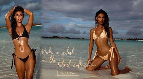 Chân dài 9x người Úc khoe dáng hoàn hảo với bikini