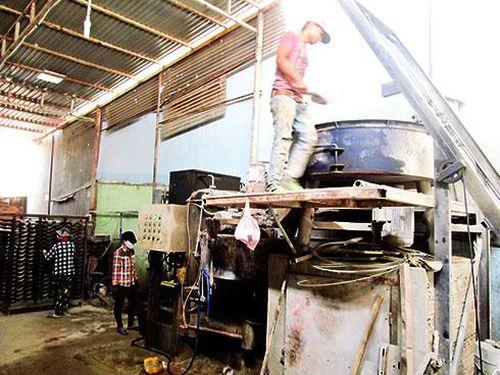 Cơ sở sản xuất ngói Vĩnh Thạch: Sẽ di dời trong tháng 4
