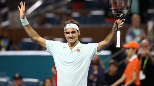 Miami Open: Federer lại cách danh hiệu thứ 101 đúng 1 chiến thắng