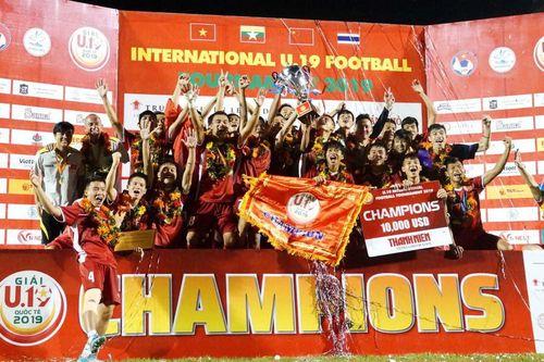 Hạ U19 Thái Lan, U19 Việt Nam vô địch giải quốc tế