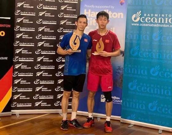 Nguyễn Tiến Minh lần thứ 2 vô địch giải cầu lông New Zealand