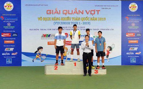 Hưng Thịnh TP. Hồ Chí Minh dẫn đầu Giải quần vợt Vô địch năng khiếu toàn quốc 2019