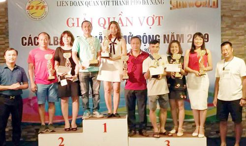 Kết thúc giải quần vợt các CLB TP Đà Nẵng mở rộng