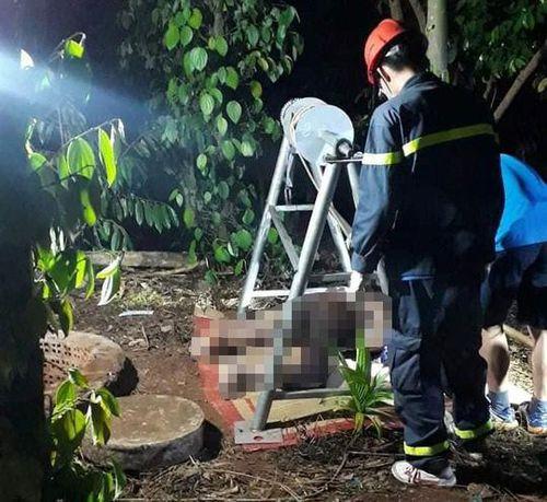 Phát hiện thi thể người đàn ông dưới giếng sau 2 ngày mất tích