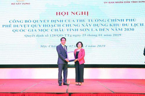Công bố quy hoạch chung xây dựng Khu du lịch quốc gia Mộc Châu tỉnh Sơn La đến năm 2030