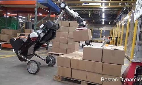 Xem robot hình chim xếp hàng hóa trong tích tắc