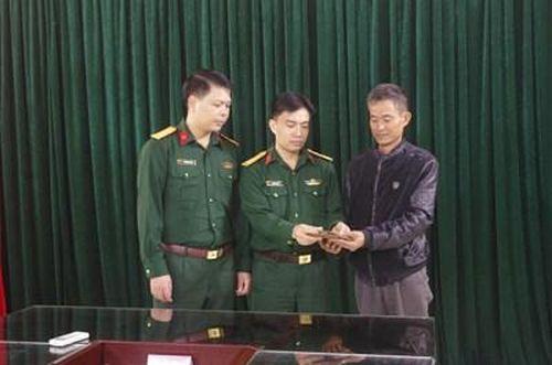 Hành động đẹp của Trung úy Nguyễn Văn Hợp