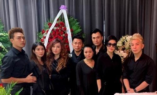 Nghệ sĩ xúc động đến viếng đám tang diễn viên Anh Vũ tại Mỹ