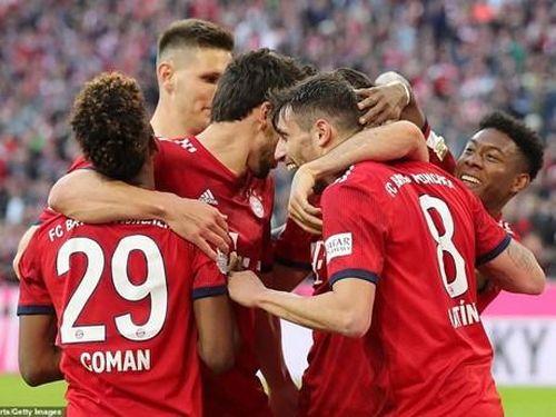 Bayern Munich hủy diệt Dortmund ở trận 'chung kết' của mùa giải