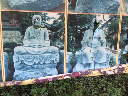 Sau vụ 16 pho tượng bị phá tại chùa Vĩnh Thanh, TP Hà Nội: Kẻ xấu lại tiếp tục ra tay