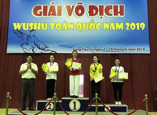 Quảng Ninh giành 2 HCV tại Giải vô địch Wushu toàn quốc