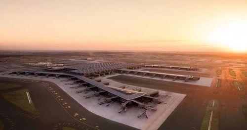 Cận cảnh sân bay hoành tráng nhất thế giới