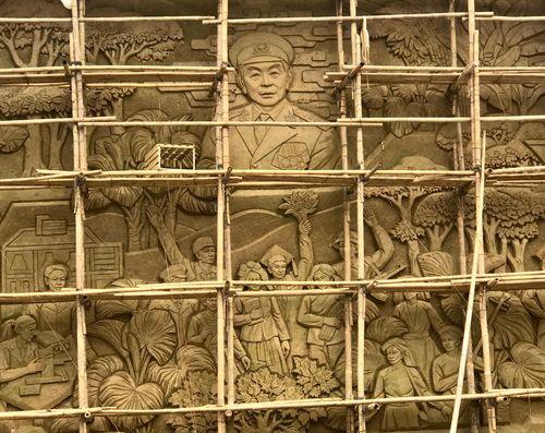 Phù điêu Đại tướng Võ Nguyên Giáp trên thủ đô gió ngàn: Kỳ vọng một công trình nghệ thuật xứng tầm