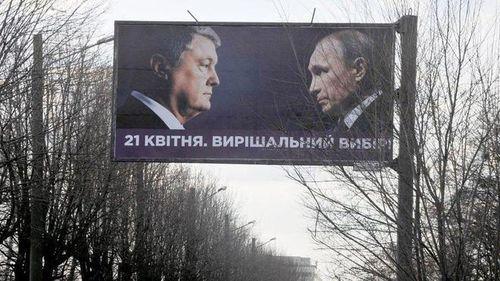 Nga chỉ trích Ukraine 'xài chùa' hình Tổng thống Putin