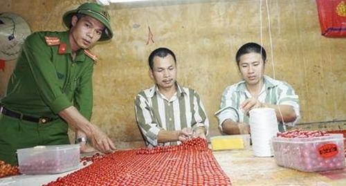 Công việc lặng thầm nơi trại giam Đồng Sơn