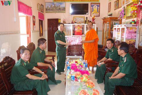 Sóc Trăng: Chúc Tết Chôl Chnăm Thmây của đồng bào Khmer