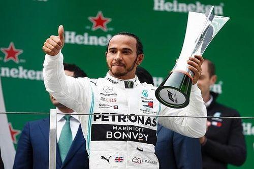 Hamilton thắng chặng đua F1 thứ 1.000 ở Trung Quốc