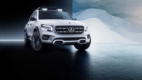 Mercedes-Benz GLB - mẫu xe gia đình thiết kế độc đáo chuẩn bị trình làng
