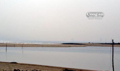 Cửa sông Cu Đê bị vùi lấp nghiêm trọng