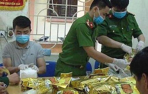 Khởi tố, truy nã quốc tế các đối tượng trong vụ 23 bao ma túy ở Nghệ An