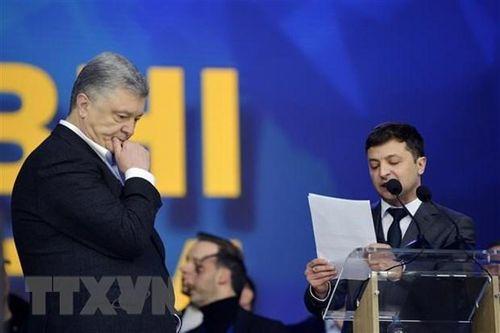 Bầu cử tổng thống Ukraine: Tổng thống Poroshenko thừa nhận thất bại