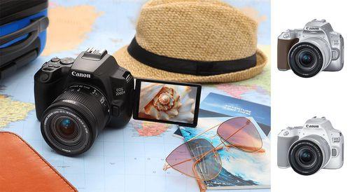 Canon ra mắt mẫu máy ảnh mới EOS 200D II với mức giá 16,5 triệu đồng