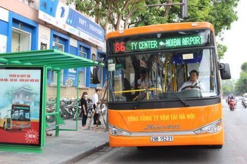 Sẽ có thêm tuyến buýt chất lượng cao Hà Đông - sân bay Nội Bài