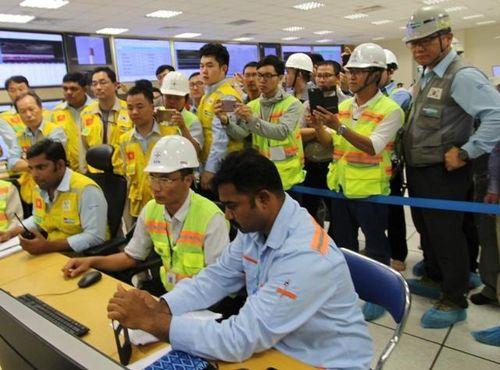 Nhà máy Nhiệt điện Vĩnh Tân 4 mở rộng hòa lưới điện lần đầu thành công