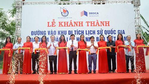 Khánh thành tuyến đường vào khu Di tích thành lập Hội Nhà báo Việt Nam
