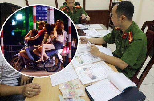 Khởi tố vụ án, bắt nhiều 'ma cô' trong đường dây mại dâm kiểu côn đồ trấn lột ở Hà Nội