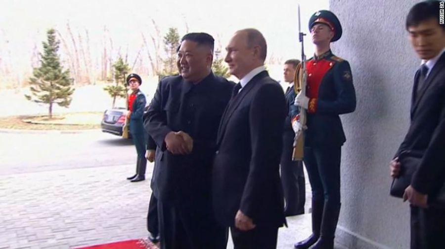 Lãnh đạo Nga và Triều Tiên bắt đầu họp thượng đỉnh