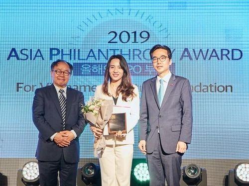 Asia Philanthropy Award 2019 vinh danh Quỹ Vì Tầm Vóc Việt là Tổ chức phi lợi nhuận của năm