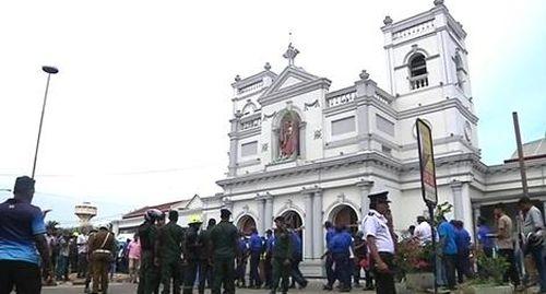 Sri Lanka bắt đầu cuộc chiến chống khủng bố