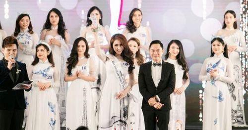 Người đẹp Hạ Long 2014 đoạt danh hiệu Hoa hậu Áo dài tại Pháp