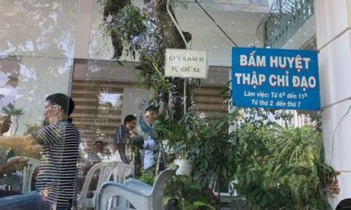 Cơ sở bấm huyệt 'Thập chỉ đạo' quy mô lớn không phép ở Sài Gòn