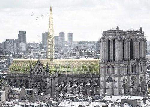 Phục chế Nhà thờ Đức Bà trở thành ngôi nhà xanh