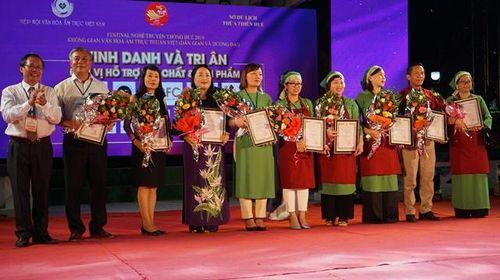 Đêm Gala và bế mạc Không gian văn hóa ẩm thực thuần Việt