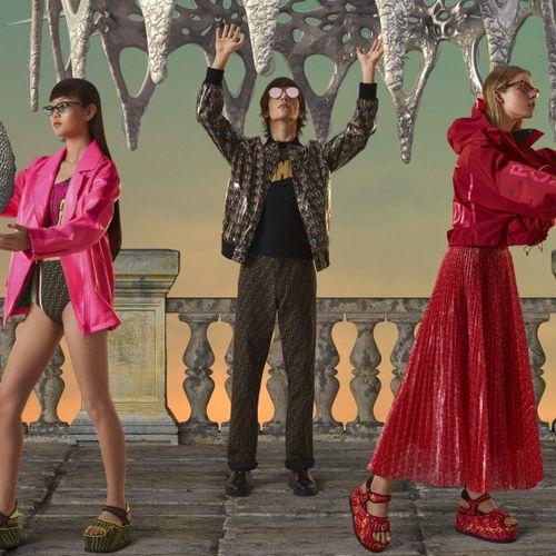 Các tín đồ thời trang có nguy cơ 'cháy túi' với bộ sưu tập 'Gentle Fendi' cực chất!