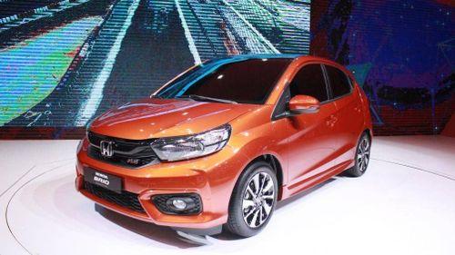 Xe cỡ nhỏ giá rẻ Honda Brio đang trên đường về Việt Nam