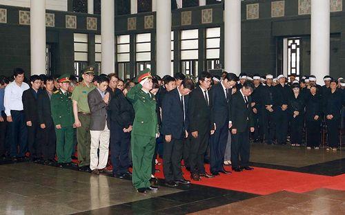 Đoàn đại biểu tỉnh Quảng Ninh viếng nguyên Chủ tịch nước, Đại tướng Lê Đức Anh