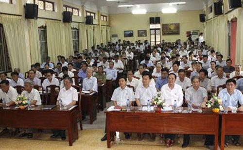 Hội Cựu chiến binh tỉnh tổ chức bồi dưỡng nghiệp vụ công tác Hội năm 2019
