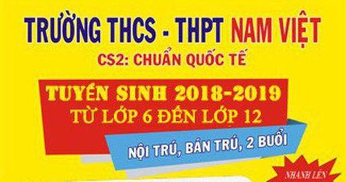 Vì sao Cơ sở số 1 của Trường THCS-THPT Nam Việt bị đình chỉ?