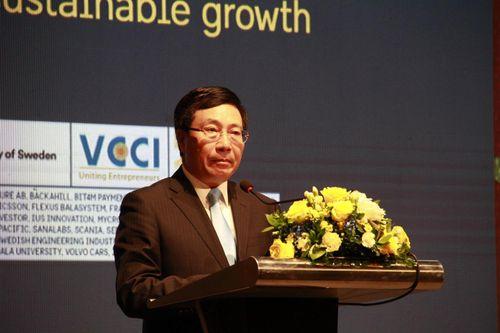 Khai mạc Hội nghị thượng đỉnh kinh doanh Việt Nam - Thụy Điển