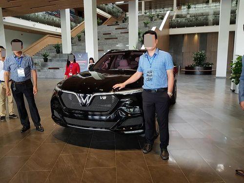 SUV đặc biệt VinFast Lux V8 xuất hiện tại Việt Nam