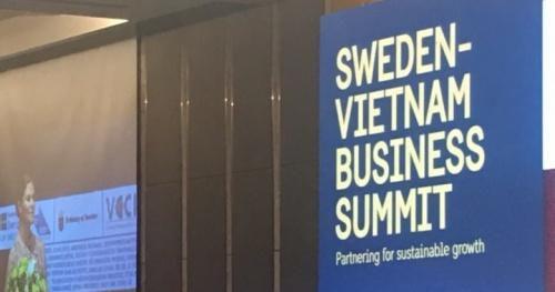 50 doanh nghiệp Thụy Điển đến Việt Nam tìm cơ hội hợp tác đầu tư